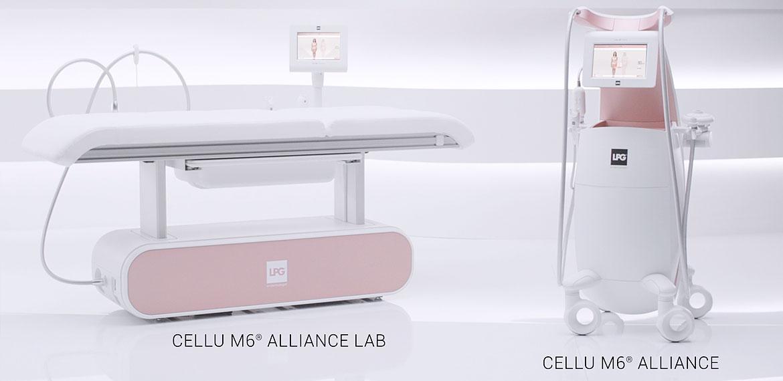 łózko zabiegowe i urządzenie lpg endermologie cellu M6 alliance legnica Epilaser